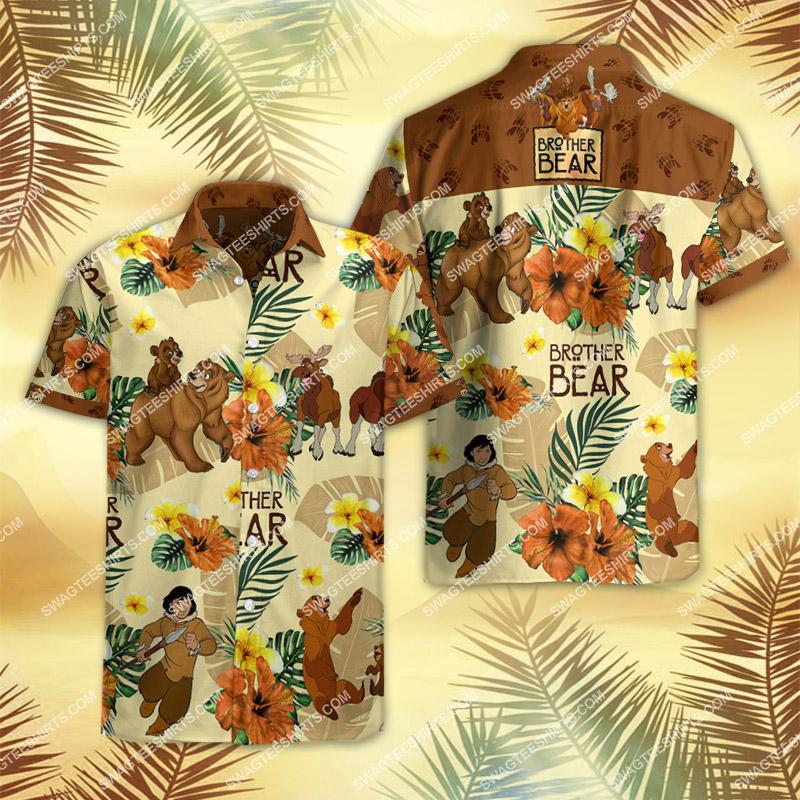Amazingfullprintingteeshirt] brother bear movie all over print hawaiian shirt