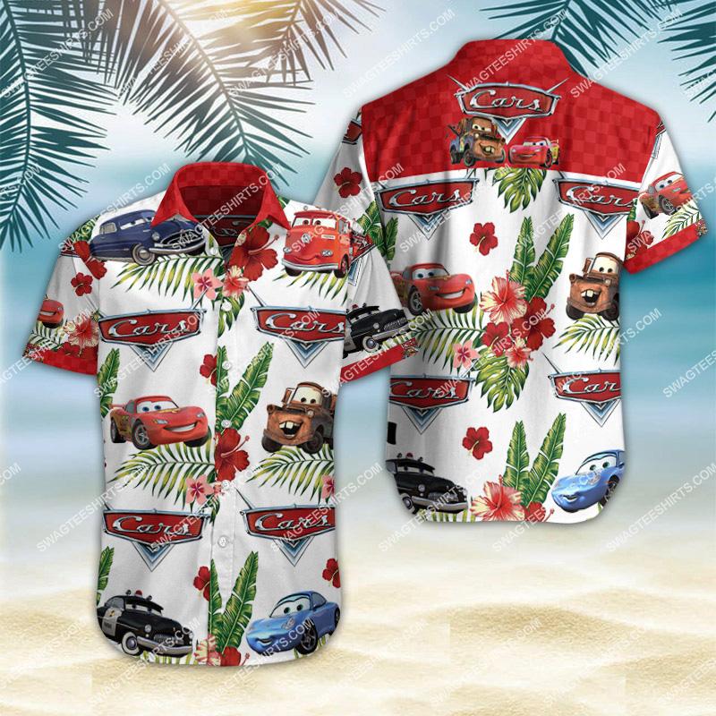 Amazingfullprintingteeshirt] cars movie all over print hawaiian shirt