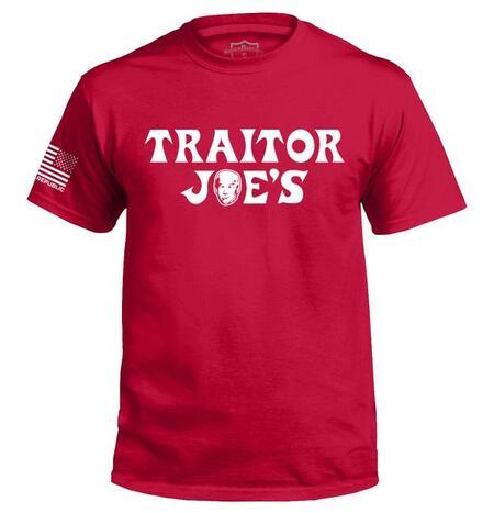 Amazingfullprintingteeshirt] joe biden traitor joe's political full print shirt