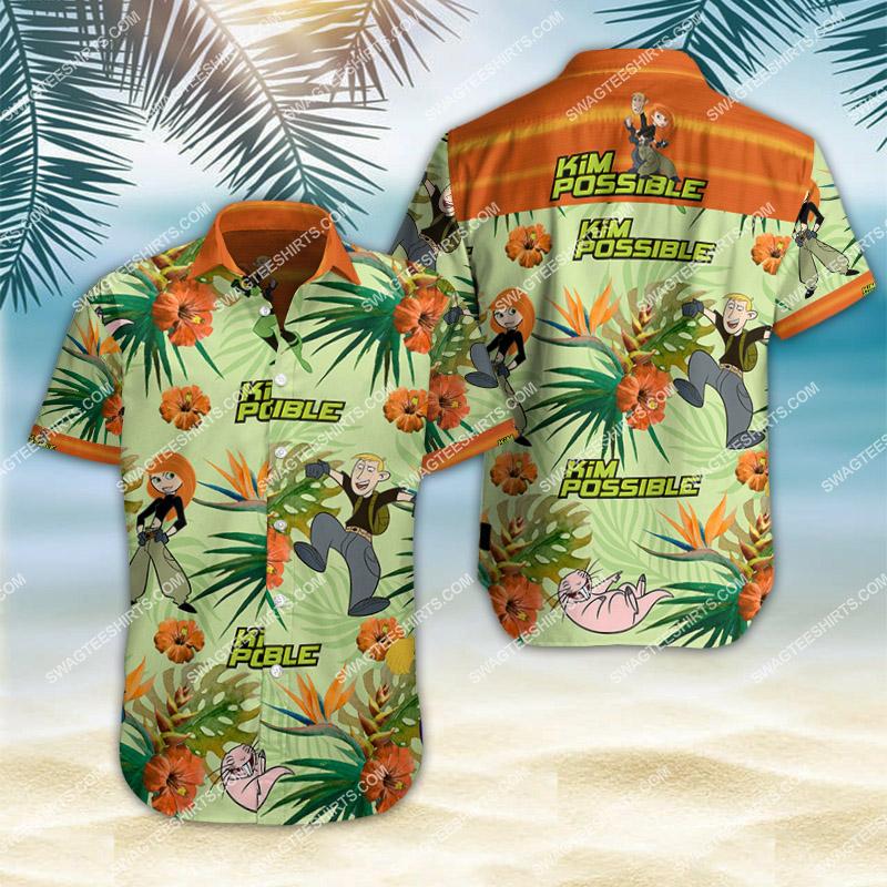 Amazingfullprintingteeshirt] kim possible movie all over print hawaiian shirt