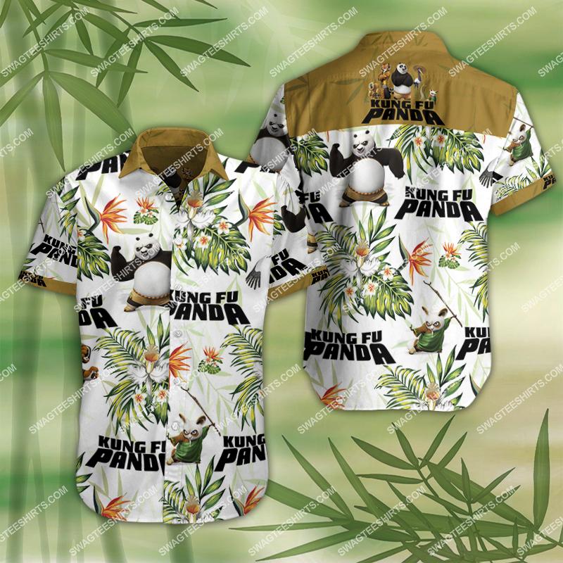 Amazingfullprintingteeshirt] kung fu panda movie all over print hawaiian shirt