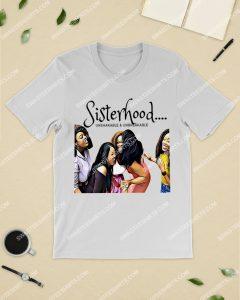 Amazingmariashirts] melanin girl sisterhood unshakable and unbreakable shirt