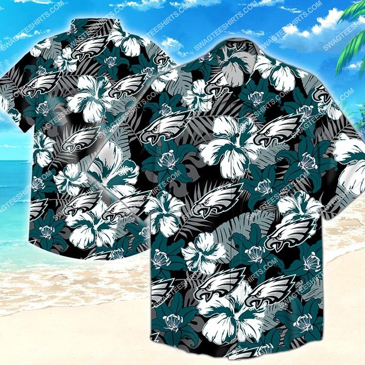 Amazingswagteeshirt]  national football league philadelphia eagles hawaiian shirt