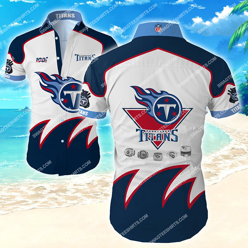 Amazingfullprintingteeshirt] national football league tennessee titans hawaiian shirt