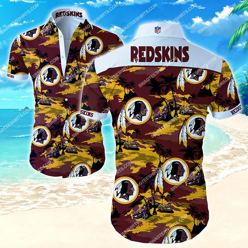 Amazingfullprintingteeshirt] national football league washington redskins hawaiian shirt