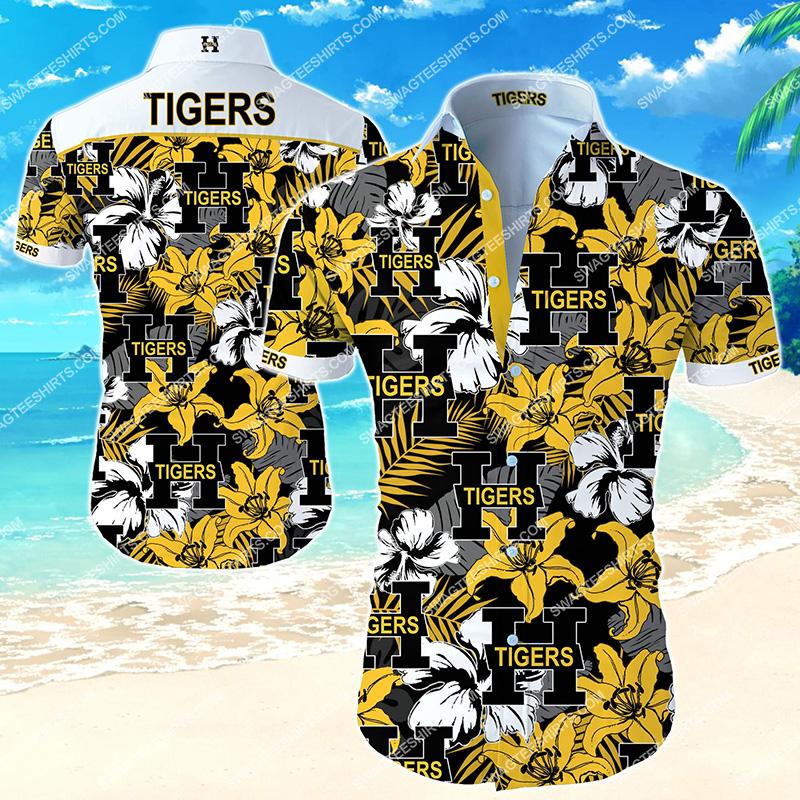 Amazingnational hockey league hamilton tigers hawaiian shirt