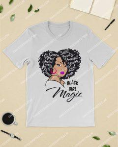Amazingmariashirts] queen smart beauty powerful strong black magic girl shirt