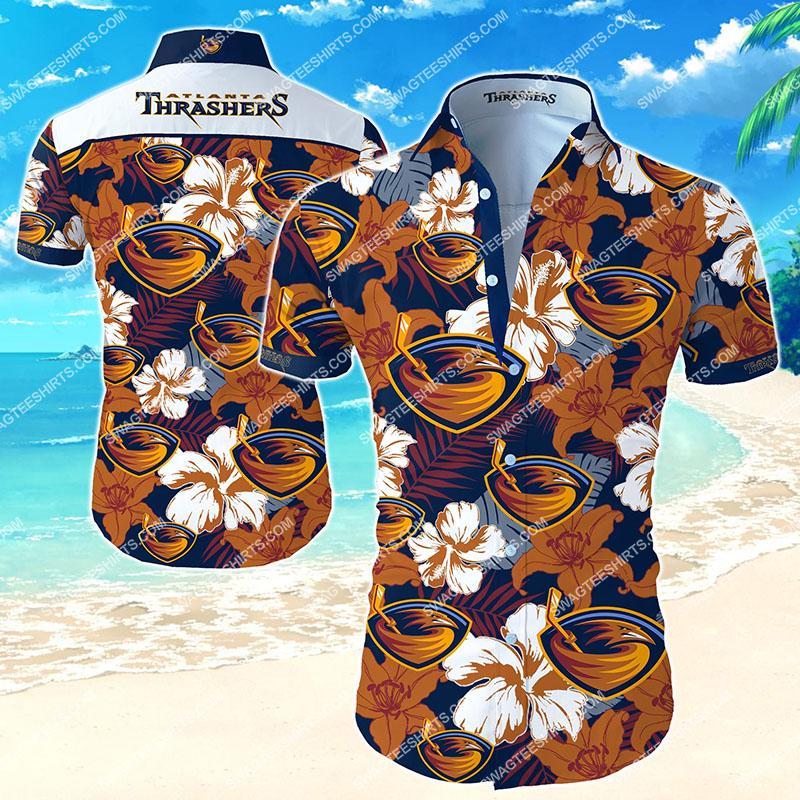 Amazingfullprintingteeshirt] the atlanta thrashers football team hawaiian shirt