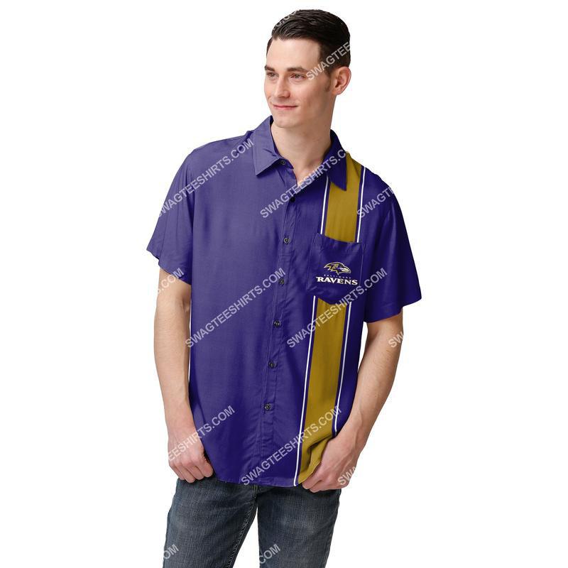 Amazingowndesignshirt] the baltimore ravens football full print hawaiian shirt