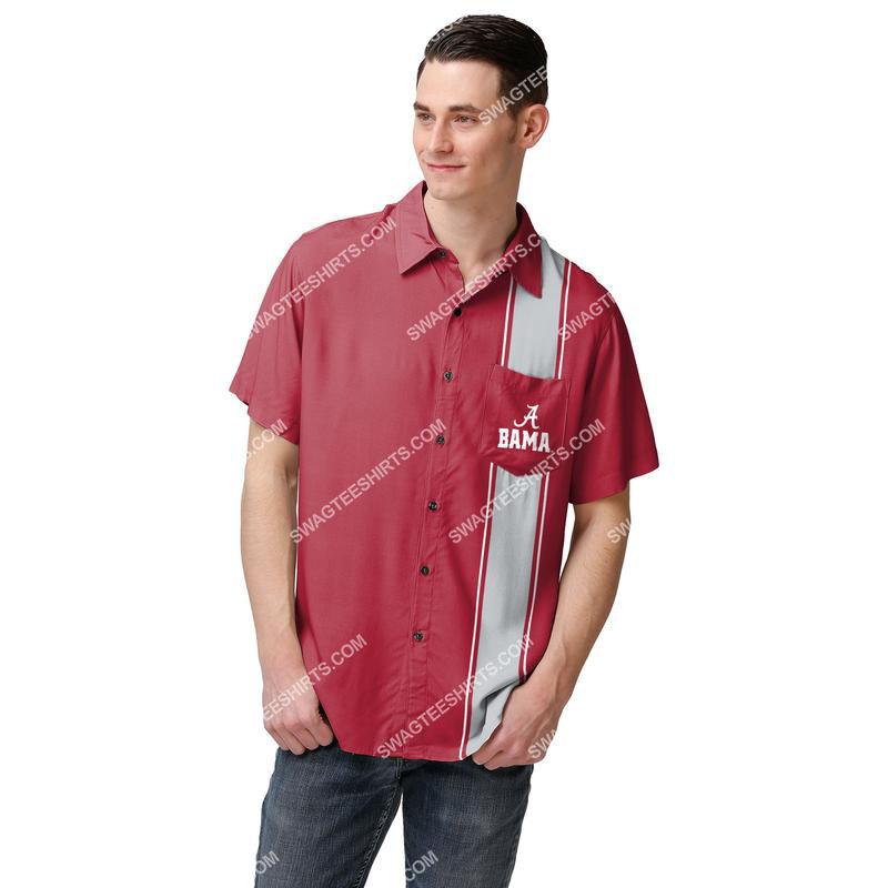 Amazingowndesignshirt] the football team alabama crimson tide ncaa full print hawaiian shirt