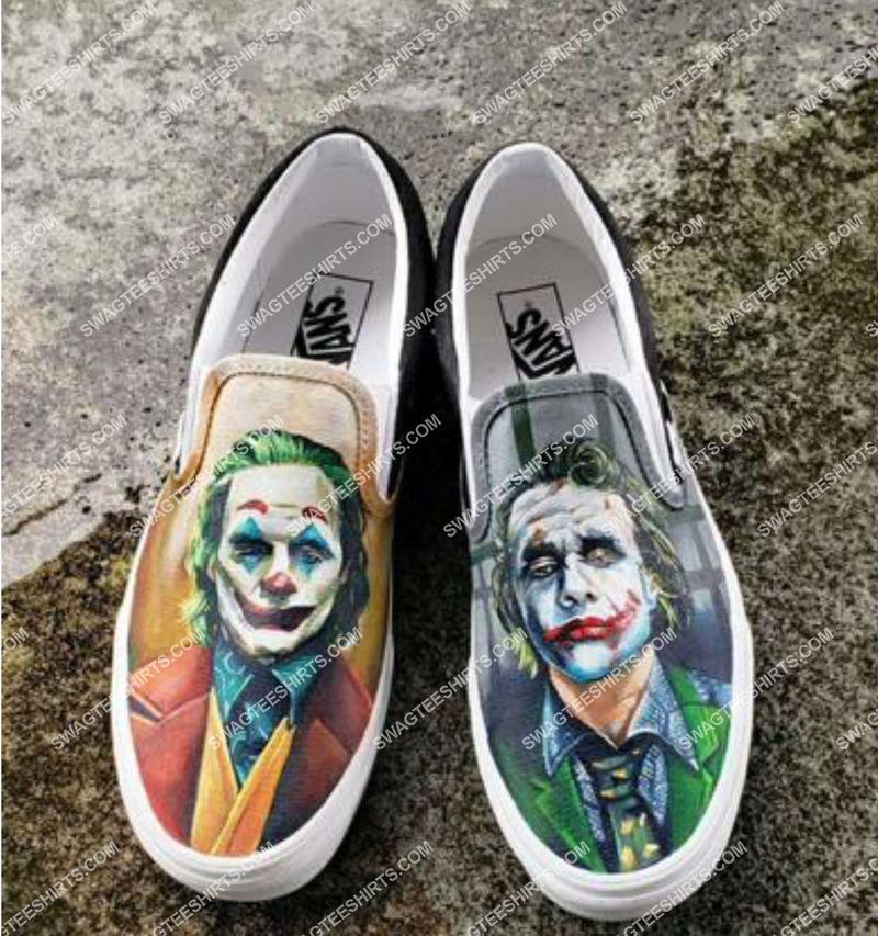 Amazingowndesignshirt] the joker movie all over print slip on shoes