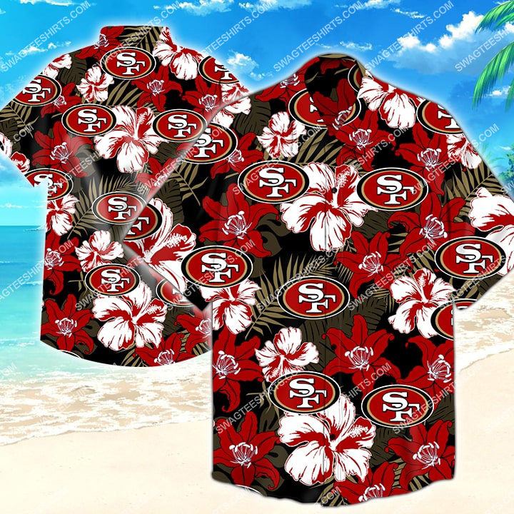 Amazingfullprintingteeshirt] the san francisco 49ers football hawaiian shirt
