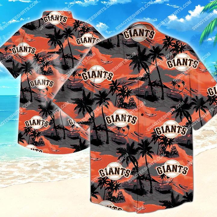 Amazingfullprintingteeshirt] the san francisco giants mlb hawaiian shirt