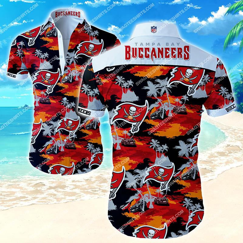 Amazingfullprintingteeshirt] the tampa bay buccaneers football team hawaiian shirt